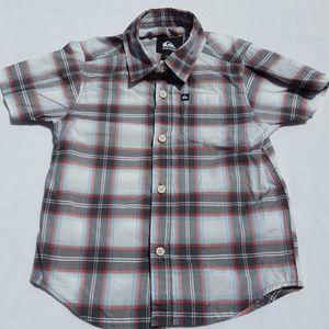 Quicksilver button-up short sleeve shirt